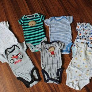 Newborn onesies lot of 7